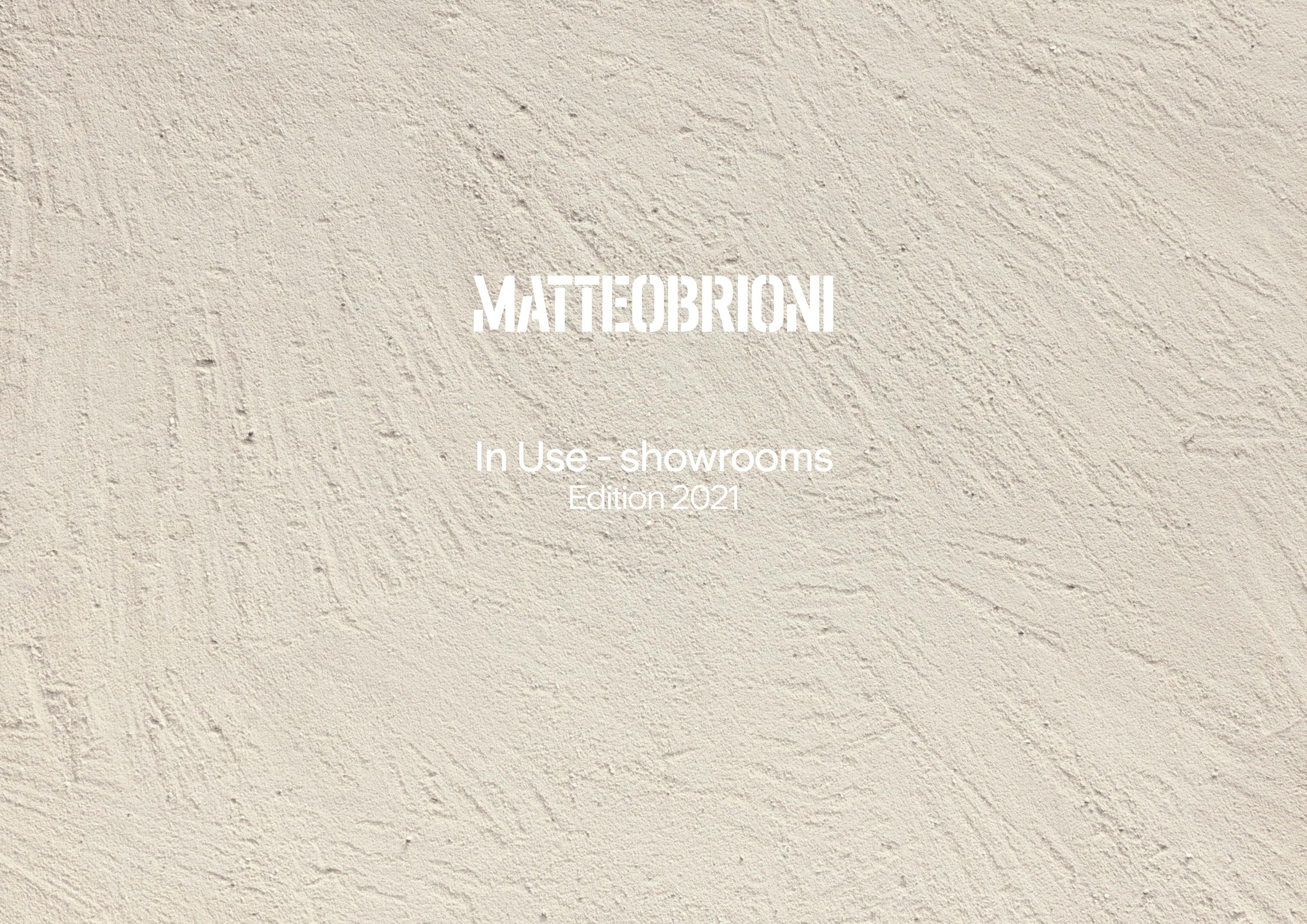 Matteo Brioni In Use 2021 Showrooms presentation English, by Lorenzo Carmassi