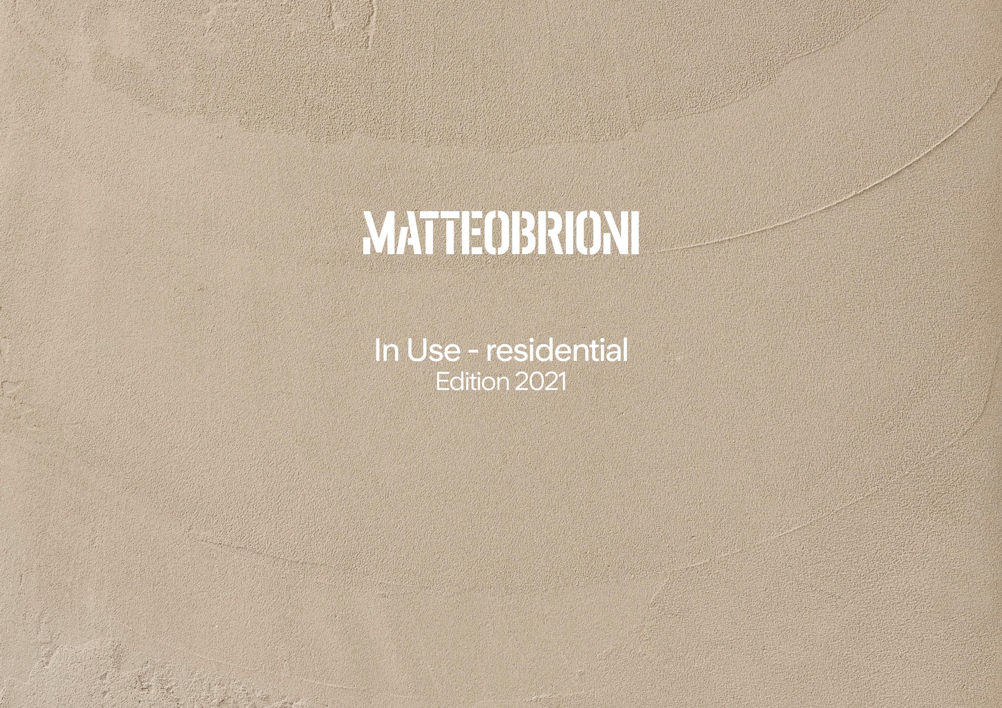 Matteo Brioni In Use 2021 Residential presentation English, by Lorenzo Carmassi
